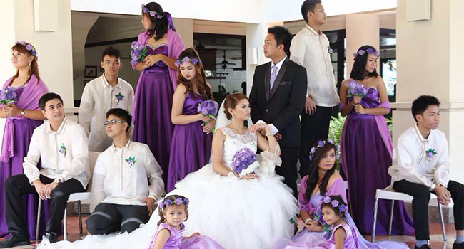 Faye and Nino Tayag Wedding